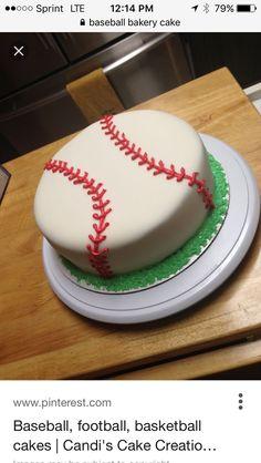 30 Beautiful Photo of Baseball Birthday Cake Baseball Birthday Cake Baseball Cake Fondant Baseball Birthdaycake Sweets Shel Birthday Cake 30, Baseball Birthday Cakes, Baseball Party, Baseball Cakes, Birthday Ideas, Baseball Grooms Cake, Baseball Desserts, Baseball Treats, Baseball Sayings