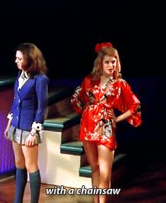 Heather Chandler in Heathers:The Musical (2010) dead girl outfit
