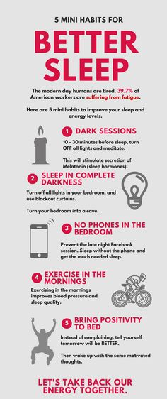 5 Mini Habits for Better Sleep