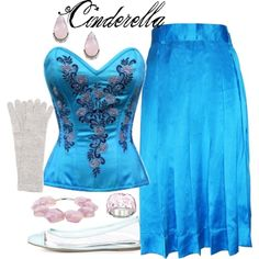 """""""Cinderella: Traditional and Glowing"""" by helsingmusique on Polyvore"""