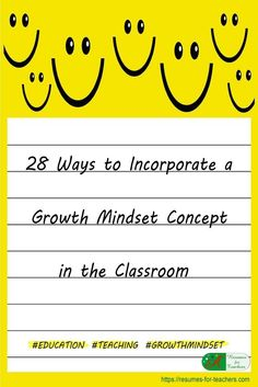Teaching and incorporating a growth mindset concept in the classroom to optimize student success via @https://www.pinterest.com/candacedavies1/