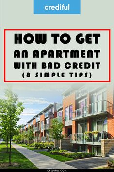 The best tips for renting an apartment with a poor credit history. Don't let bad credit stop you from getting the apartment you want to live in. Budgeting Finances, Budgeting Tips, Ways To Save Money, Money Saving Tips, Financial Planning, Money Management, Frugal Living, Renting A House, Personal Finance