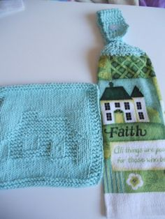 Set of Hot Home theme Kitchen Rea Towel and by needlepointnmore,
