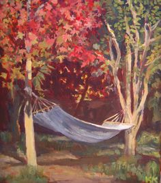 Hammock in Autumn - #San Rafael #Mendoza #Argentina