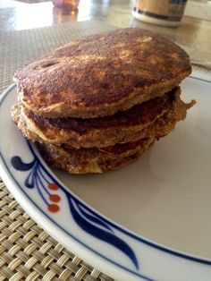 Oat Bran Pancakes For One