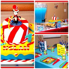 Dr. Seuss Birthday Party Ideas | Photo 1 of 9 | Catch My Party