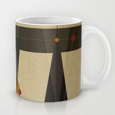 Geometric/Abstract 2 Mug by ViviGonzalezArt - $15.00