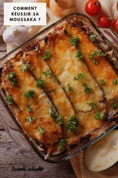 Moussaka : nos meilleures recettes Meat Sauce Recipes, Seafood Recipes, Batch Cooking, Cooking Recipes, Food Porn, Twice Baked Potatoes, Best Food Ever, Best Dinner Recipes, Healthy Eating Tips