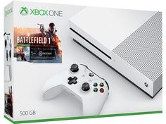 on aime MICROSOFT Xbox One S 500 GB+ Battlefield 1 (ZQ9-00037) chez Media Markt