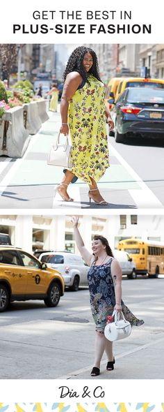 Your destination for the latest in plus-size dresses.