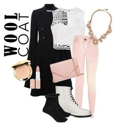 """""""Style With Wool Coat"""" by lillian-cx ❤ liked on Polyvore featuring Givenchy, Ally Fashion, Circus By Sam Edelman, River Island, Tory Burch, Kate Spade and Rimmel"""