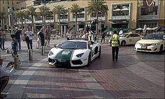 Bling patrol: Dubai's $550,000 squad car