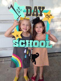 1st day of kindergarten!