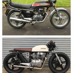 caferacer bratstyle honda motorcycle on Instagram