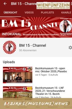 Channel, Youtube Kanal, Form, Wordpress, Museum, Videos, Text Messages, Past, Interesting Facts
