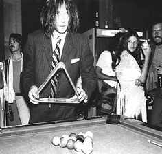Neil Young at a Warner Bros party in Hollywood; captured by Brad Elterman (1977)