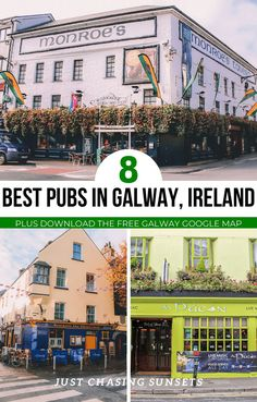 Galway Ireland's pubs are at the heart of this lively city on the Wild Atlantic Way. Listening to traditional Irish music in Galway's pubs is one of my favorite things to do in Galway, and it will likely be yours too! Read on to discover the best pubs in Galway for music, food, drinks and all around good craic! #galway #ireland #irelandtravel #irishpub #visitireland