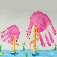 25 Precious Handprint Crafts for Toddlers – Page 9 – Play Ideas