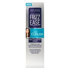 John Frieda Frizz Ease® Go Curlier® Heat-Activated Spray - 3.5 oz : Target $8.99