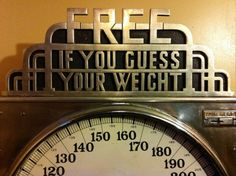 One coin Weight Scales:
