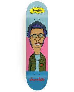 Chocolate Skateboards – Jerry Hsu & Marc Johnson Pro Models
