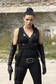 Alison King as The Hitwoman Lorca