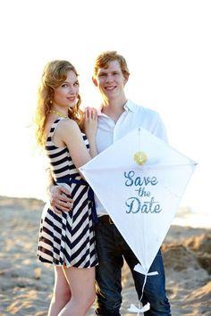 Cute 'save the date' idea