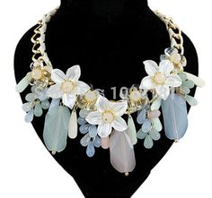 -bohemian-silver-flowers-tear-drop-large-chunky-bib-necklaces