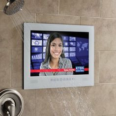 The Northstar Waterproof Television from Electric Mirror allows you to create that special home spa atmosphere within the confines of an otherwise ordinary bathroom.
