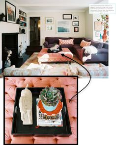 coffee table decorating & styling tips