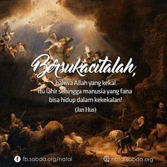 #sukacita #Allah #kekal #lahir #manusia #hidup #Jan_Hus #natal #christmas Jan Hus, Allah, Christmas, Movies, Movie Posters, Yule, Films, Navidad, Film Poster