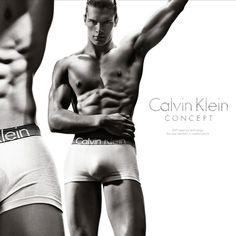 calvin klein model...