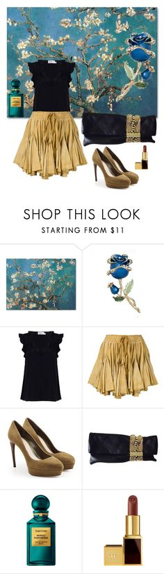 """Date night"" by blumbeeno on Polyvore featuring Zimmermann, Vivienne Westwood Gold Label, Alexander McQueen, Jimmy Choo and Tom Ford"