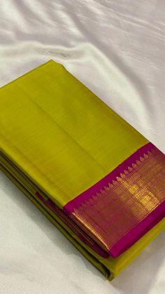 Bridal Silk Saree, Satin Saree, Saree Wedding, Sarees For Girls, Kanjivaram Sarees Silk, Pattu Saree Blouse Designs, Asian Bridal Dresses, Traditional Silk Saree, Indian Bridal Fashion