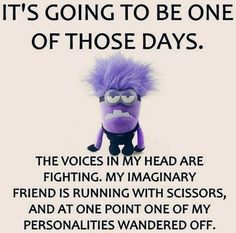 Funny purple Minion。◕‿◕。 See my Despicable Me Minions pins https://www.pinterest.com/search/my_pins/?q=minions Join the hottest Group board on Pinterest! https://www.pinterest.com/busyqueen4u/pinterest-group-u-pin-it-here/