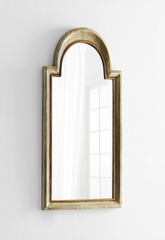 """Barlow Mirror 22""""(w) x 44.75""""(h) x 1.5""""(ext) Whitewashed Iron Wood and Mirrored Glass Please allow 1 - 2 weeks to ship out and receive tracking. *This item"""
