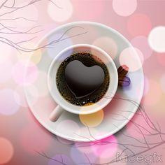 Halo coffee designs vector