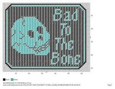 MOUSEPAD * BAD TO THE BONE by TRICIA