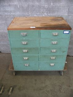 Vintage 10 Drawer Base Cabinet | Second Use, Seattle: Building Materials,  Salvage
