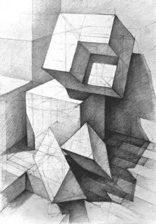 Astounding Exercises To Get Better At Drawing Ideas Geometric Shapes Drawing, Art Drawings, Drawings, Geometric Drawing, Art, Art Optical, Abstract, Architecture Art, Cool Drawings