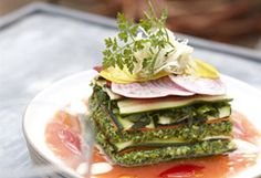"""Recipe for Raw Zucchini and Carrot Lasagna with Almond """"Ricotta"""""""