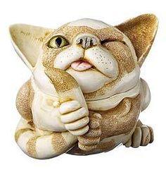 Harmony Kingdom Alley Cats Meow Marble Resin Box Figurine UK Made | eBay