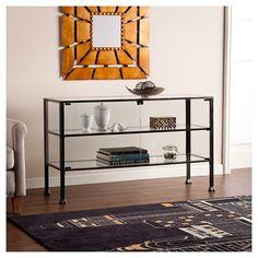 Terrarium Storage Cabinet Curio Black - Southern Enterprises : Target reg $380 sale $304
