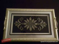 This Pin was discovered by Ayl Diy And Crafts, Cross Stitch, Frame, Home Decor, Istanbul, Disney, Hardanger, Amigurumi, Picture Frame