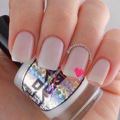 Simple and Sweet Nail Arts for Beginners -- Sweet Pink With Neon Heart Nails