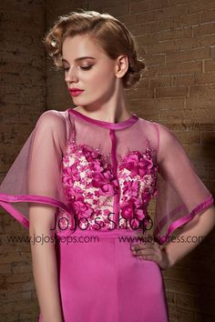 Pink Retro Vintage Hollywood Style Formal Graduation Military Ball Gown | CX882125