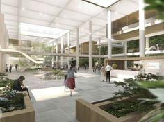 New Aalborg University Hospital / schmidt hammer lassen architects