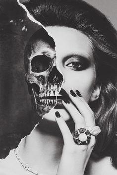 skull/face