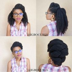 """""""A story of the hairstyle in a picture. My natural hair isn't blown out by the way. That's the way it looks a week or two after washday. Curly Hair Styles, Natural Hair Styles, Natural Beauty, Coily Hair, 4c Hair, Kinky Hair, Pelo Afro, Afro Textured Hair, Natural Hair Inspiration"""