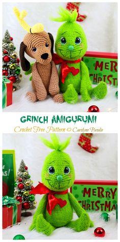Crochet Animals Patterns Free, Crochet Amigurumi Free Patterns, Christmas Crochet Patterns, Crochet Doll Pattern, Crochet Blanket Patterns, Free Crochet, Crochet Disney, Crochet Mouse, Crochet Teddy
